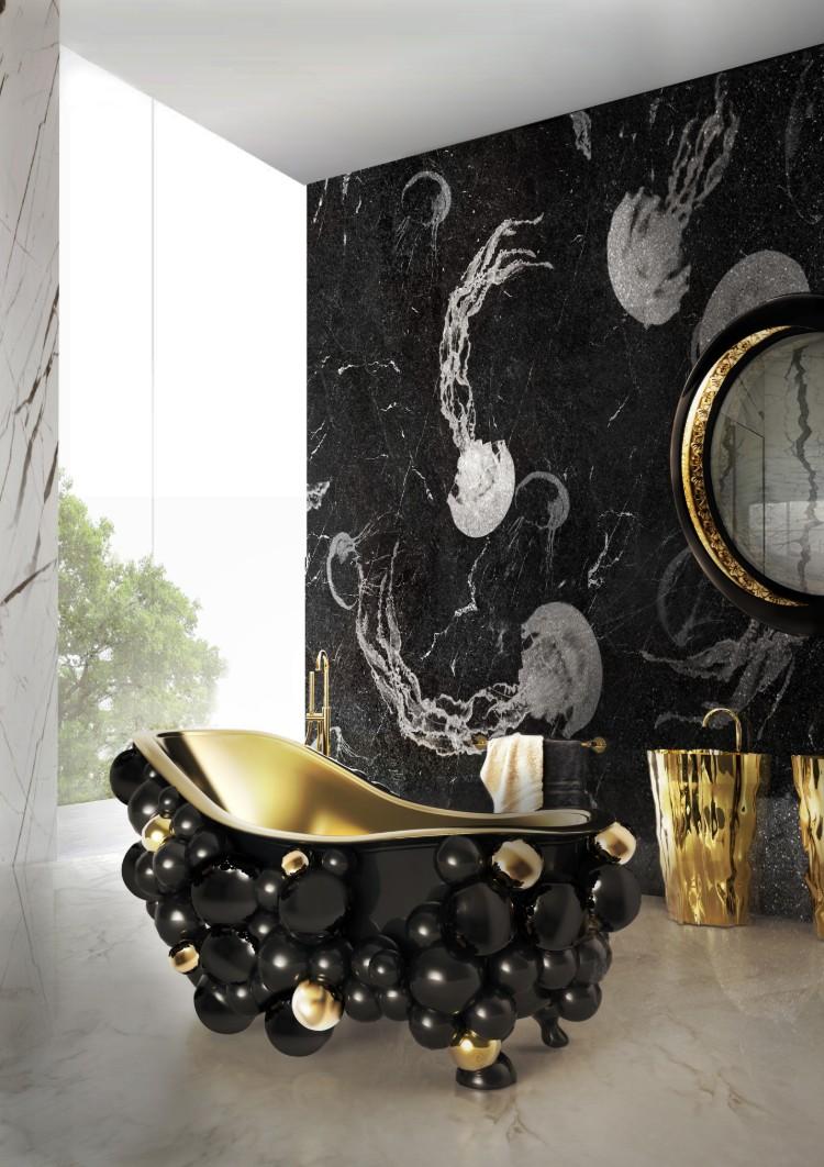 Ideobain - Golden Lighting Ideas For Your Bathroom