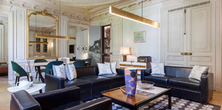 modern home lighting design ideas by gerard faivre paris Modern Home Lighting Design Ideas by Gérard Faivre Paris Gerard Faivre Paris Saint Germain Apartment